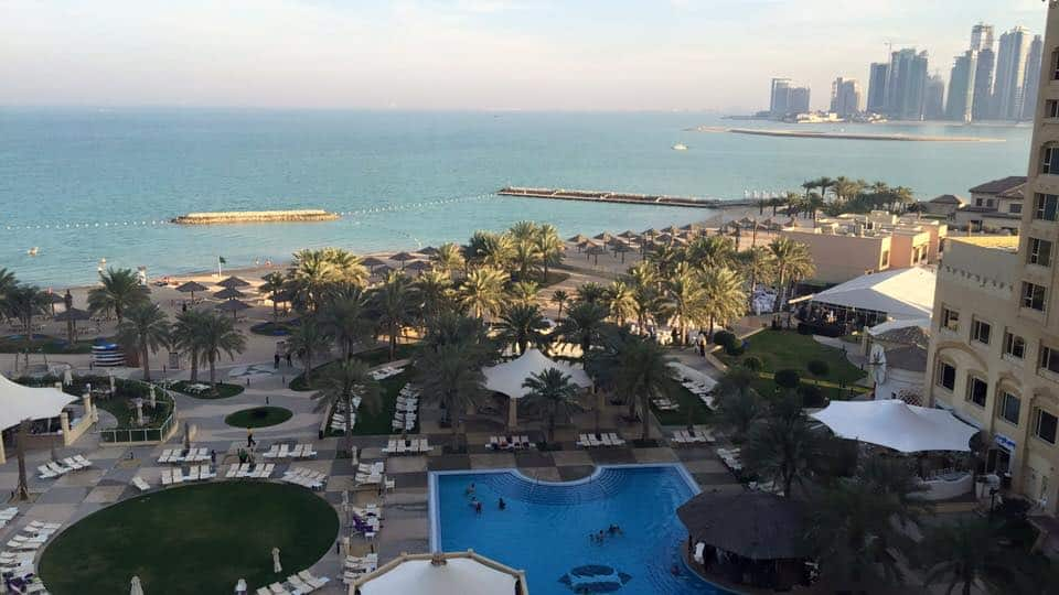 The Pool and Beach, Intercontinental Doha