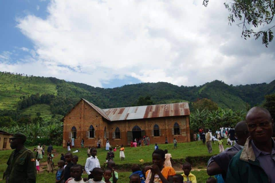 A church at Bwindi
