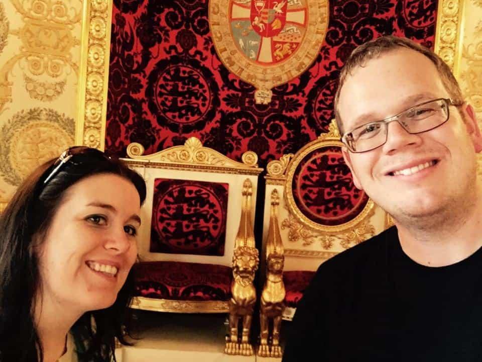 Throne Room Selfie
