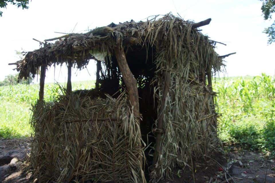 A farmers hut, Uganda