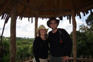 Safari hats for our Ugandan Swamp Walk