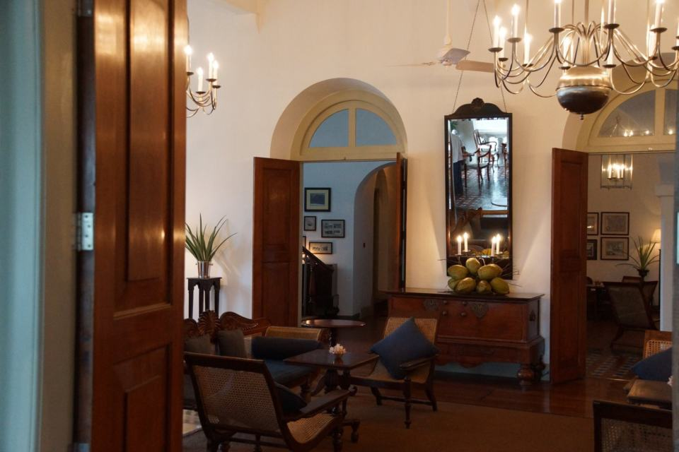 The beautiful Amangalle Hotel, Galle, Sri Lanka