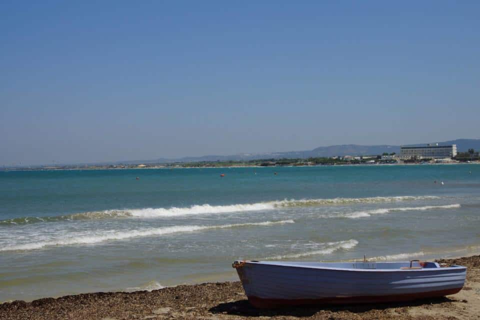 A beautiful Puglian Beach - the perfect end to our 48 hours in puglia