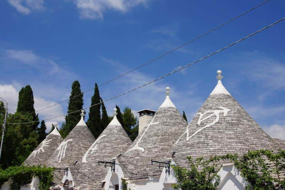 The trull houses of Alberobello
