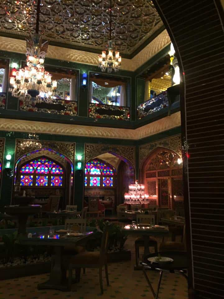 the beautiful Parisa Souq Waif restaurant