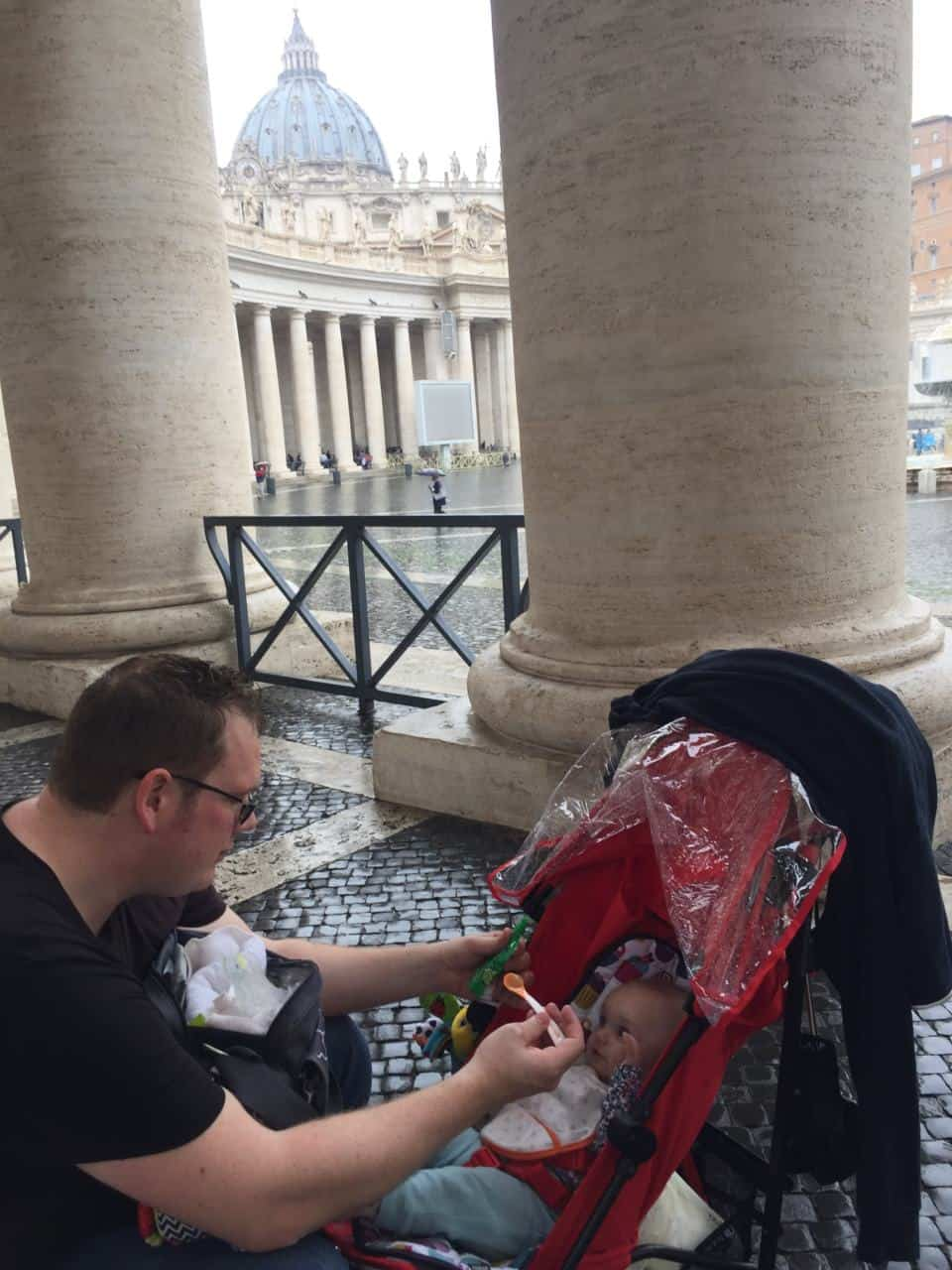Visiting the Vatican City and Rome with toddlers and babies - Best Things to do in Rome with toddler