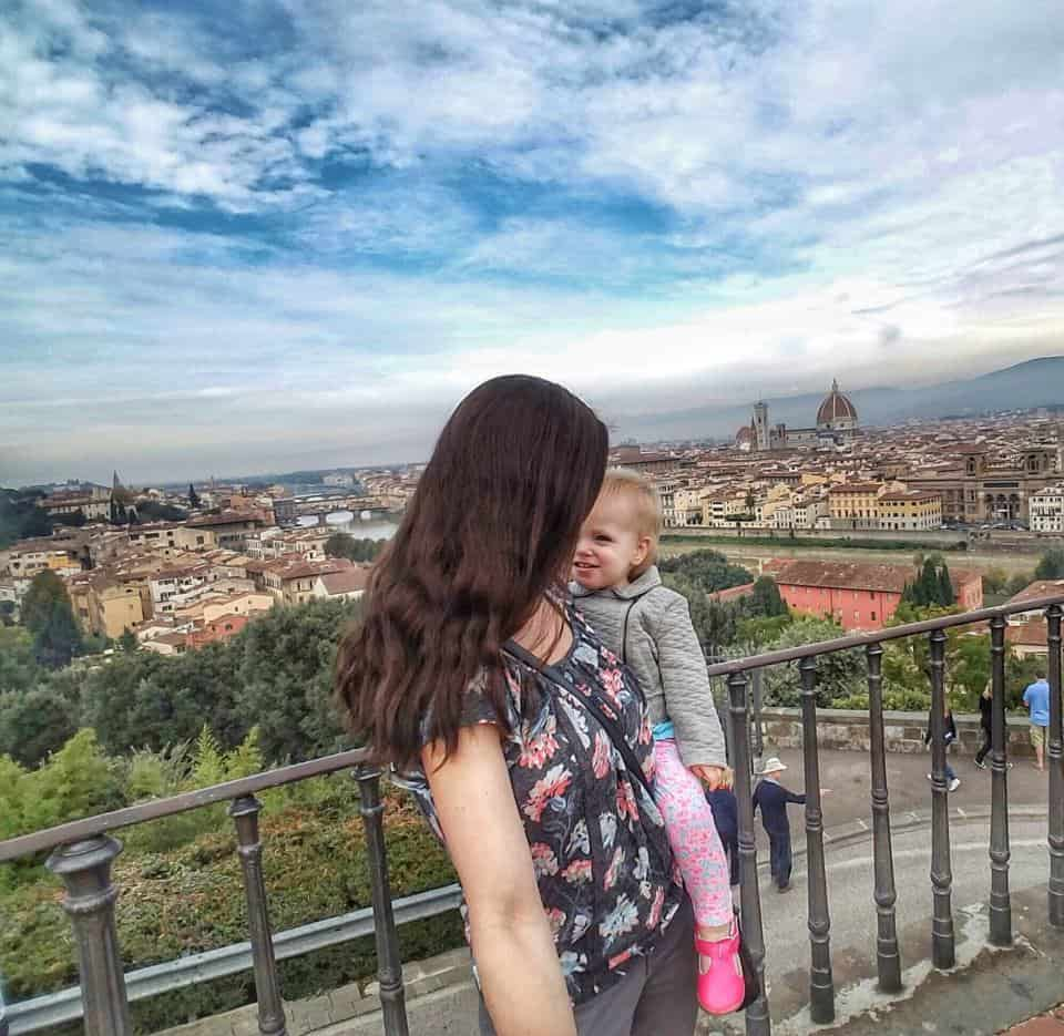 FLORENCE WEEKEND BREAKS WITH BABY  - traveling in Europe with a one year old.
