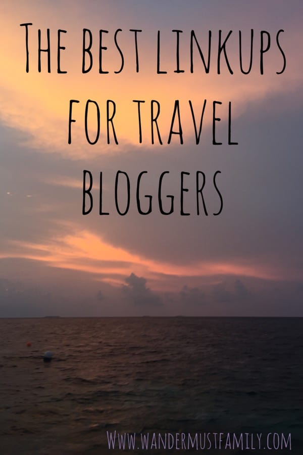 The best blog link-ups for travel bloggers