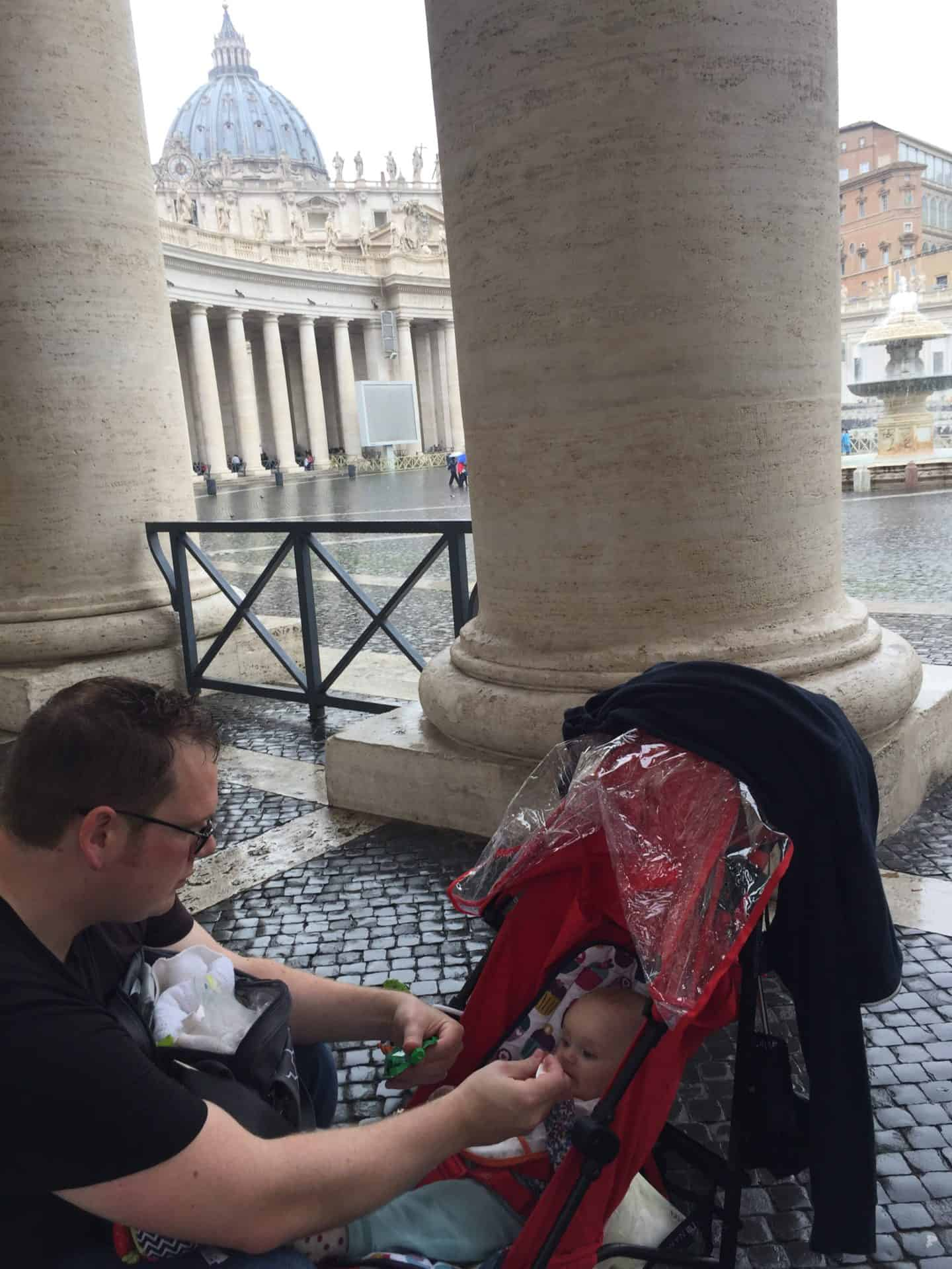 Baby led weaning while travelling – our top tips!