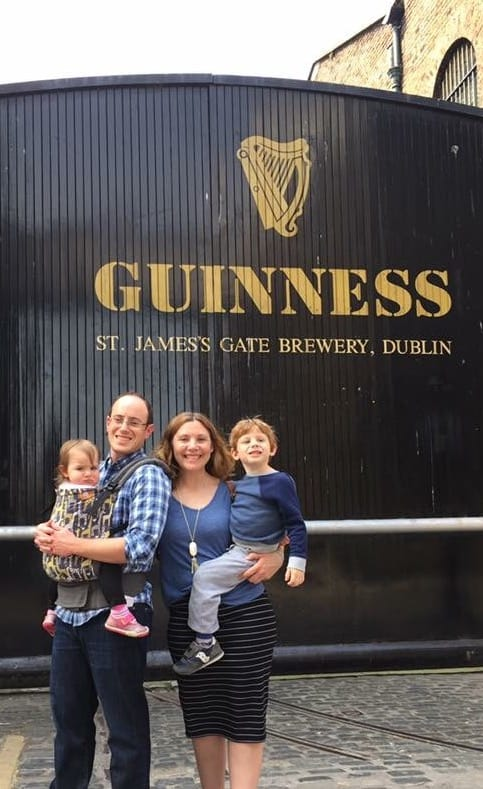 Dublin city break with toddler and baby - most baby friendly European city breaks