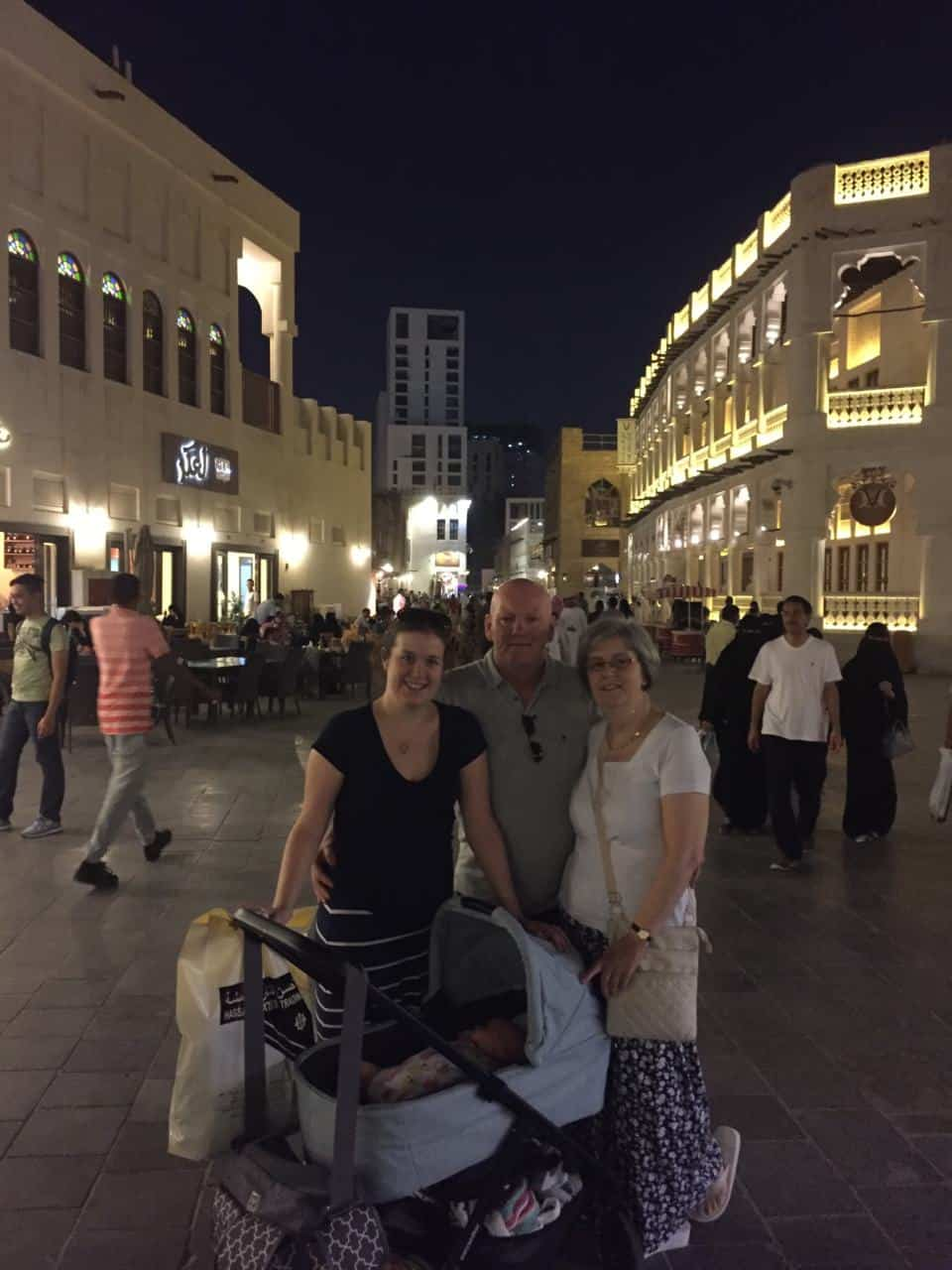 5 Tips for visiting Souq Waqif with a Baby during the Summer