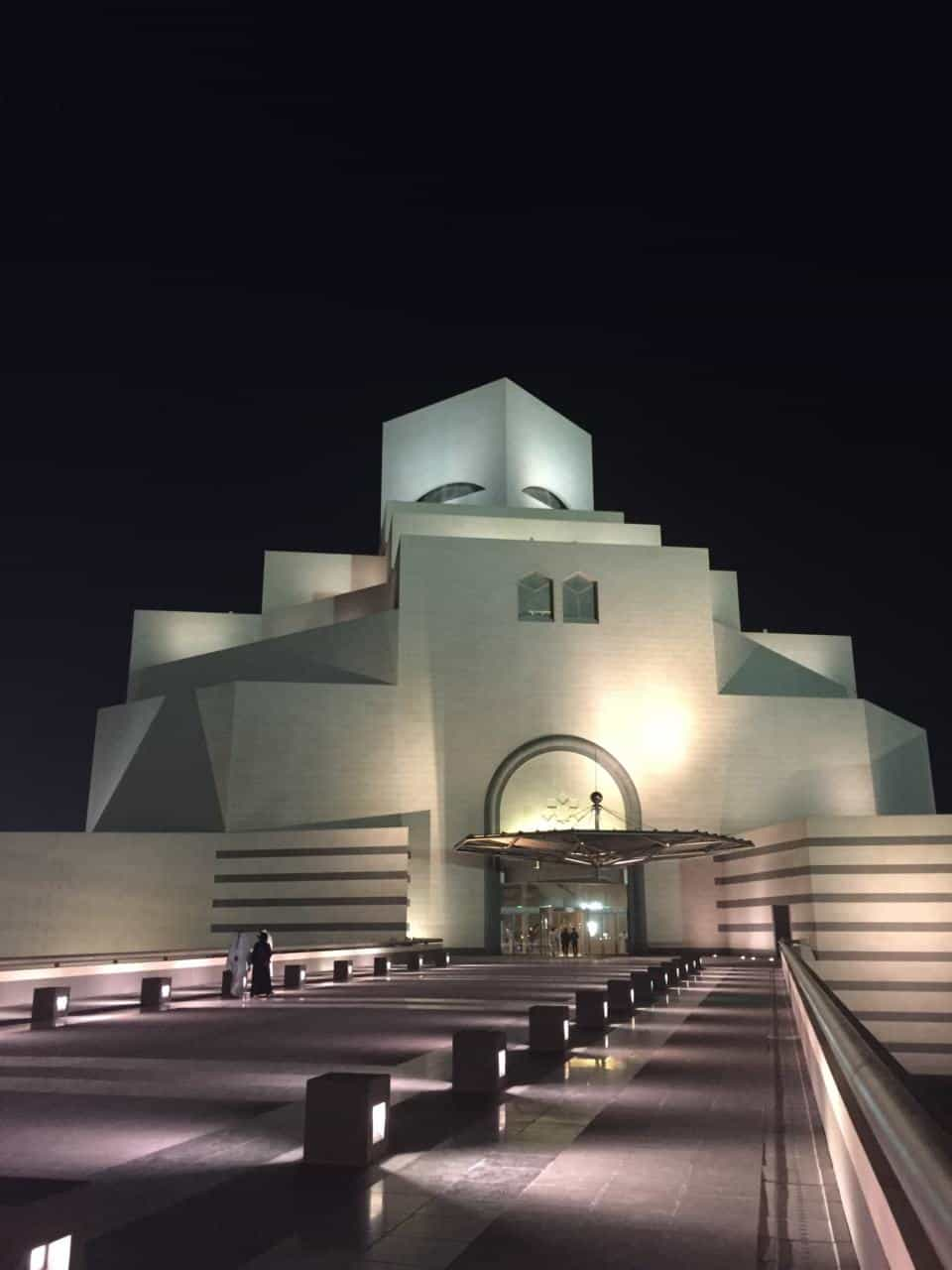 The Museum of Islamic Art Doha Qatar - one of the best things to do in Doha at night and The Best Doha Tours and Day trips in Doha