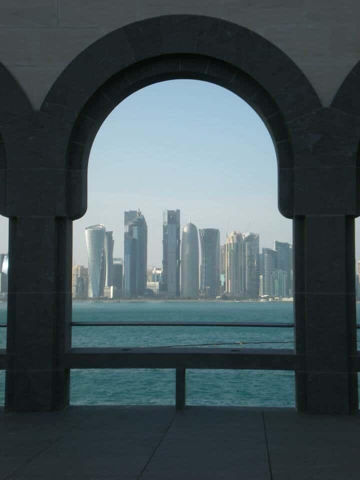 West Bay skyline - Qatar most beautiful places