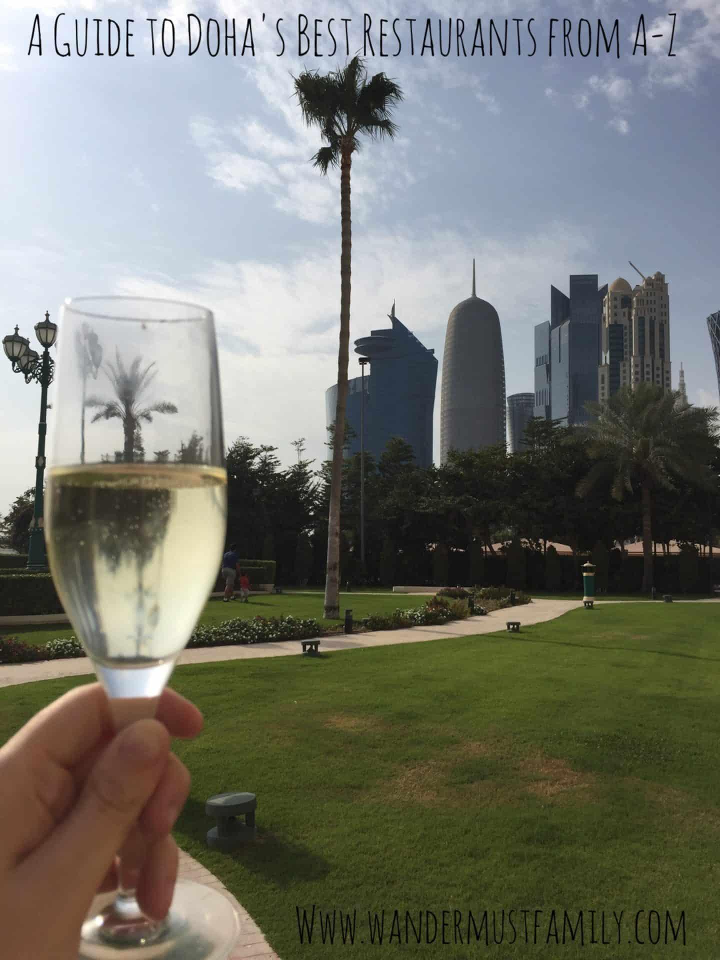 Best Restaurants in Doha Qatar from A-Z