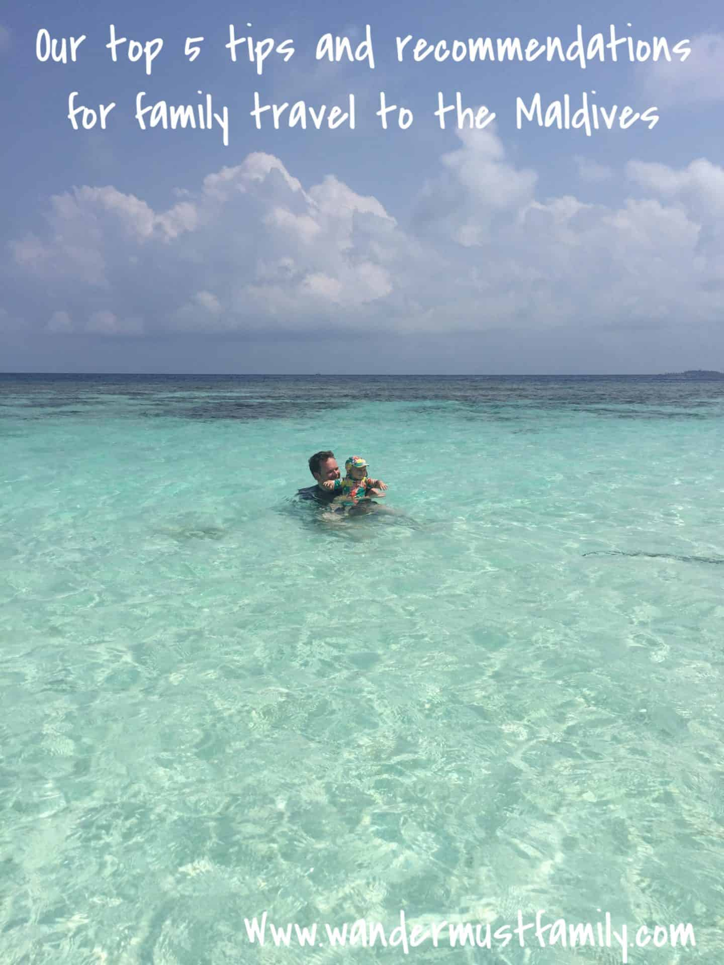Maldives with a baby – our 5 top tips and recommendations