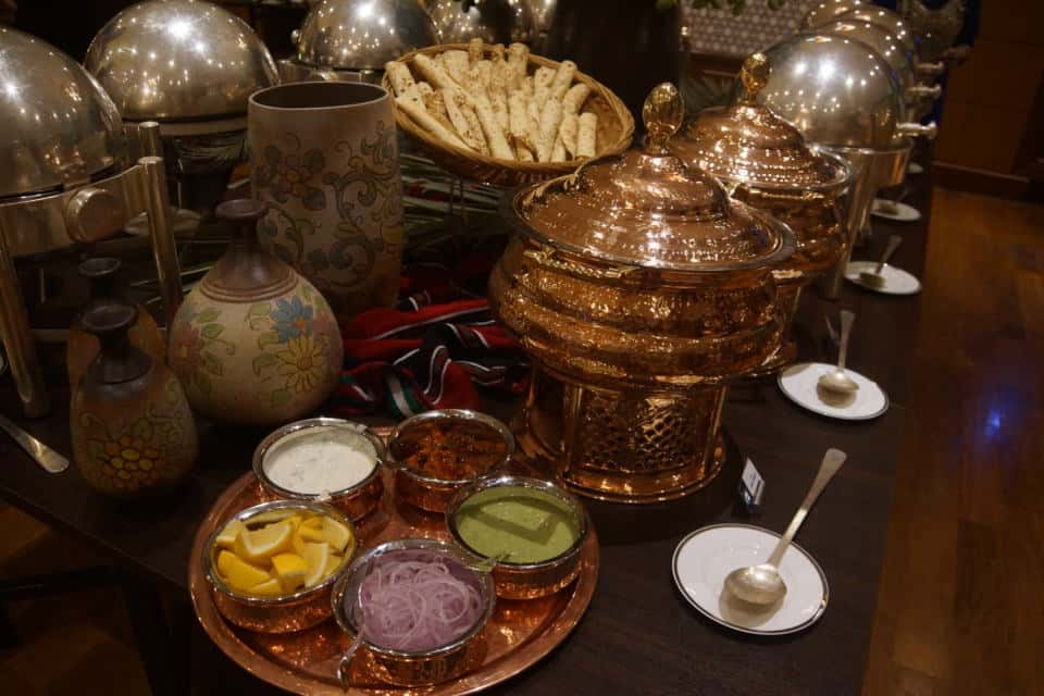 Curries at the Ramadan Tent Suhoor at the Grand Hyatt Doha