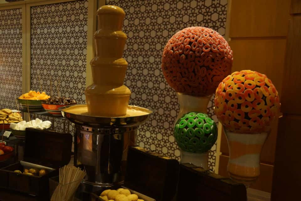 Desserts and Sweet Selection at the Ramadan Tent Suhoor at the Grand Hyatt Doha