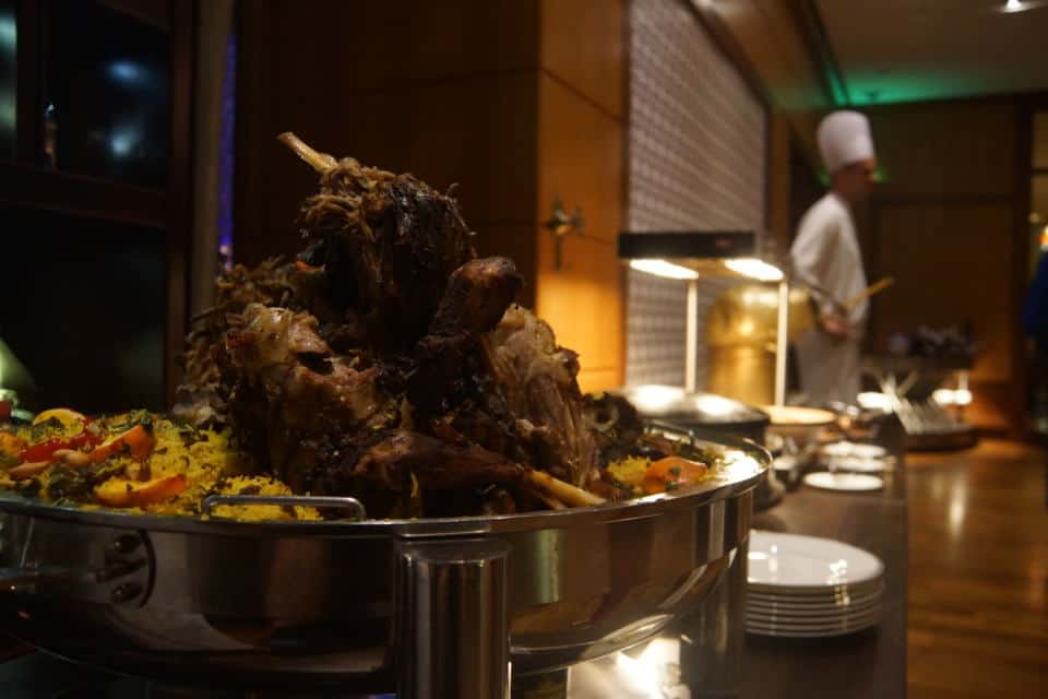 Lamb at the Ramadan Tent Suhoor at the Grand Hyatt Doha