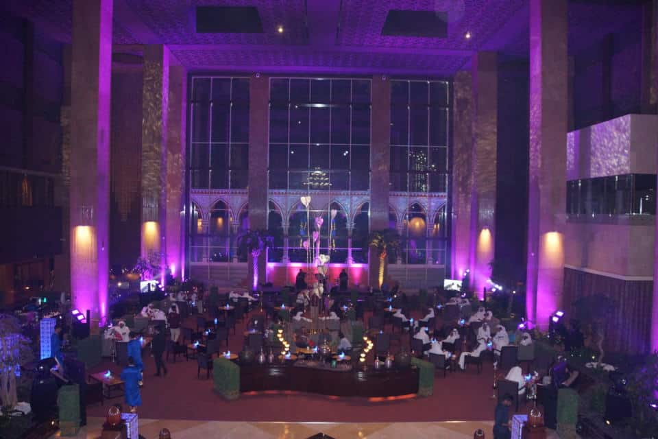 The Ramadan Tent at the Grand Hyatt Doha