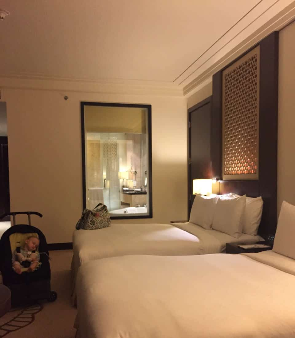 Family Friendly Room at the Conrad Dubai
