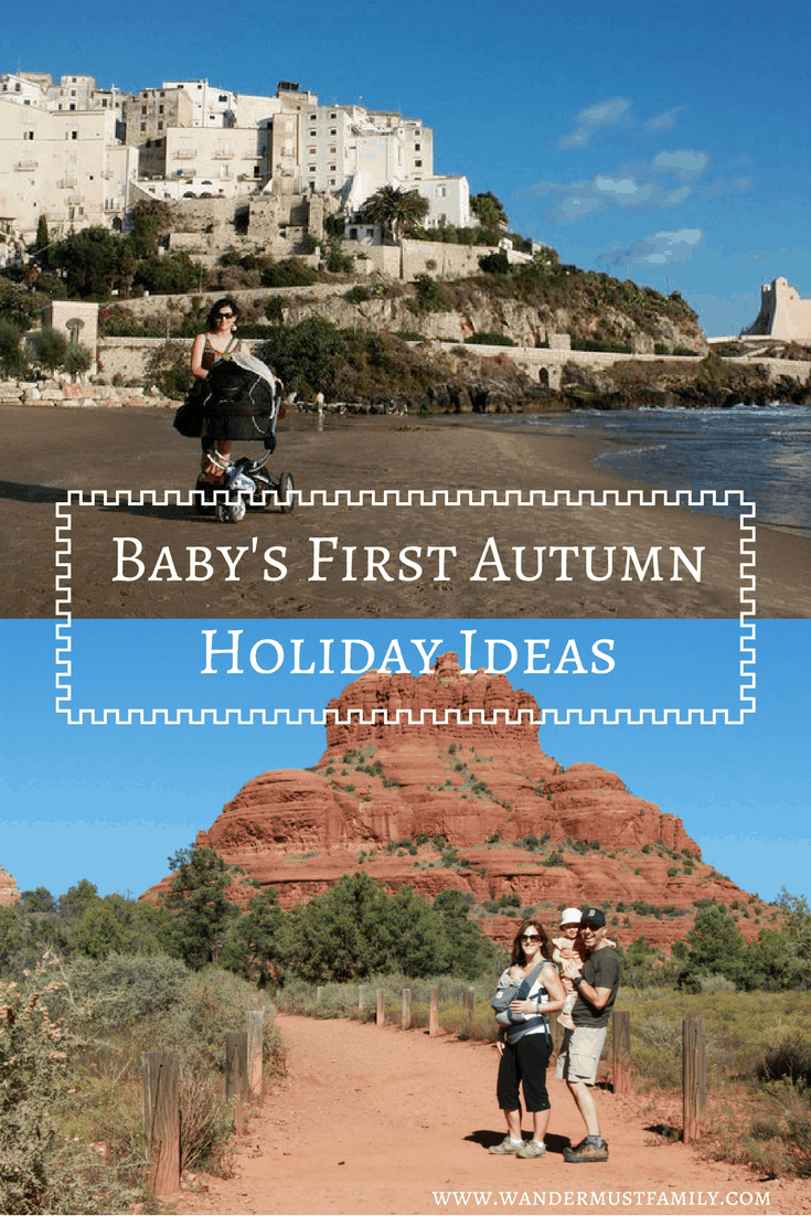 Baby's First autumn holiday ideas