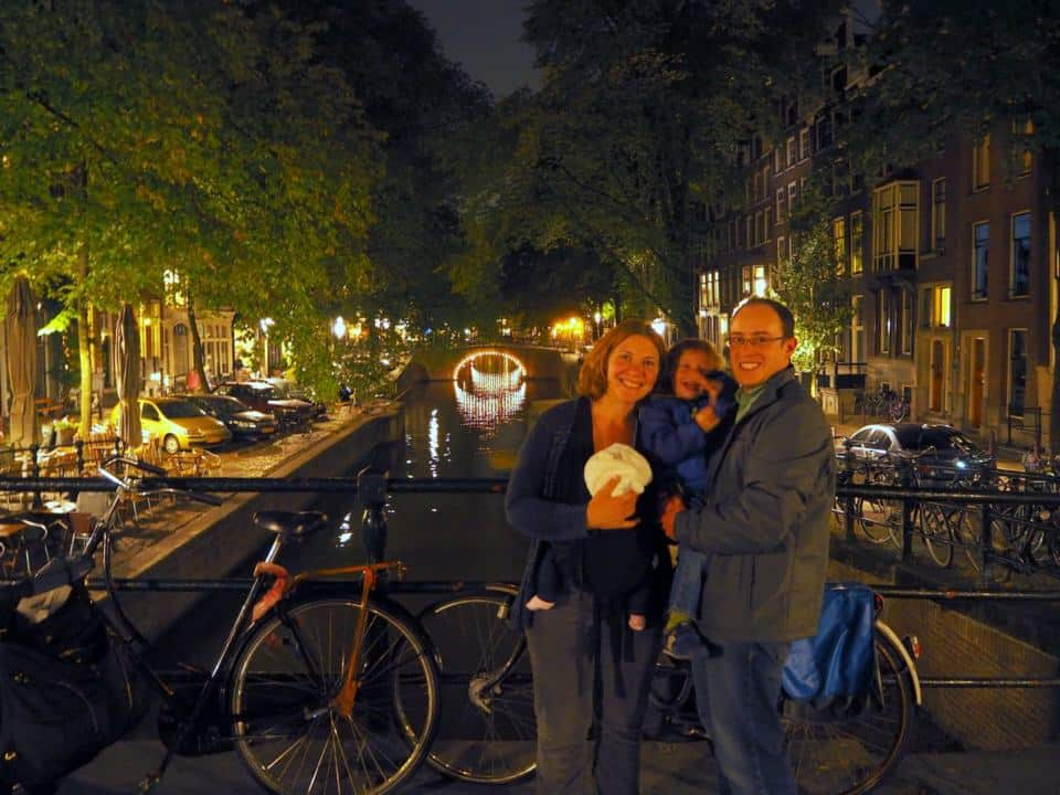 Baby's First Holiday - Amsterdam