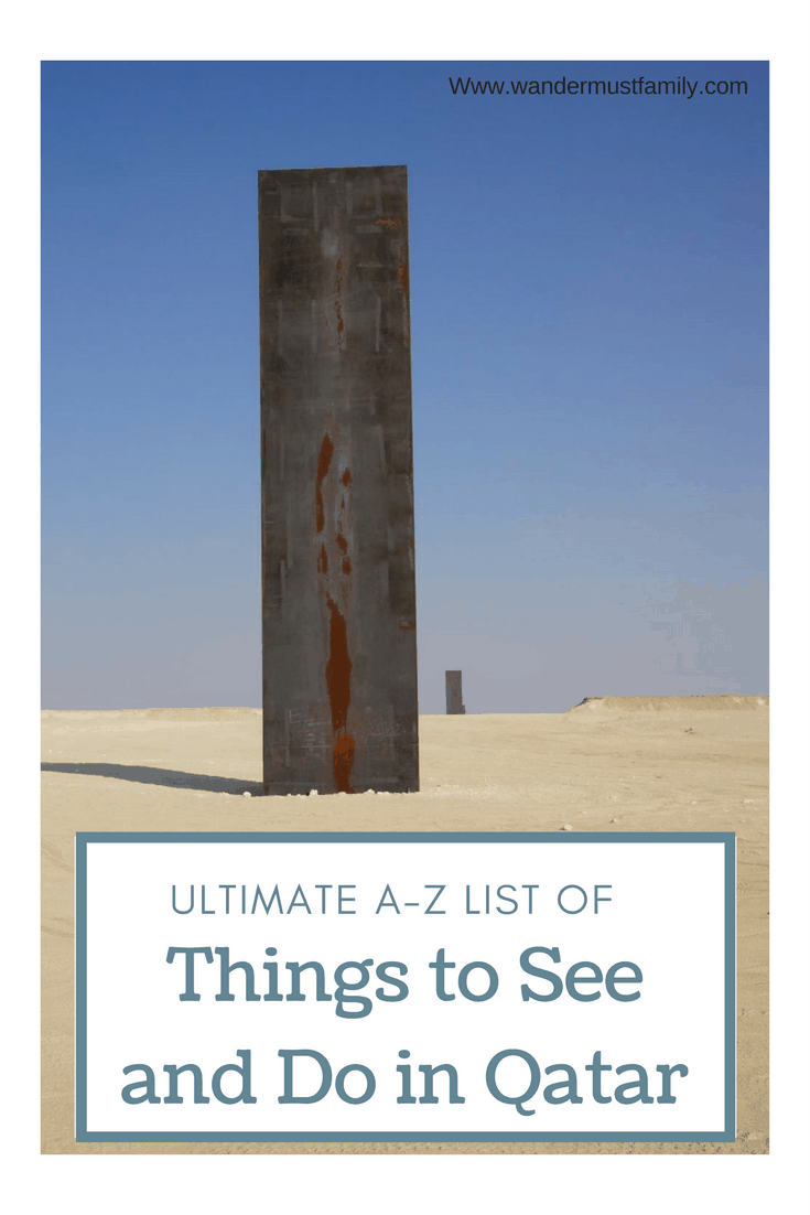 Ultimate list of things to see and things To do in qatar