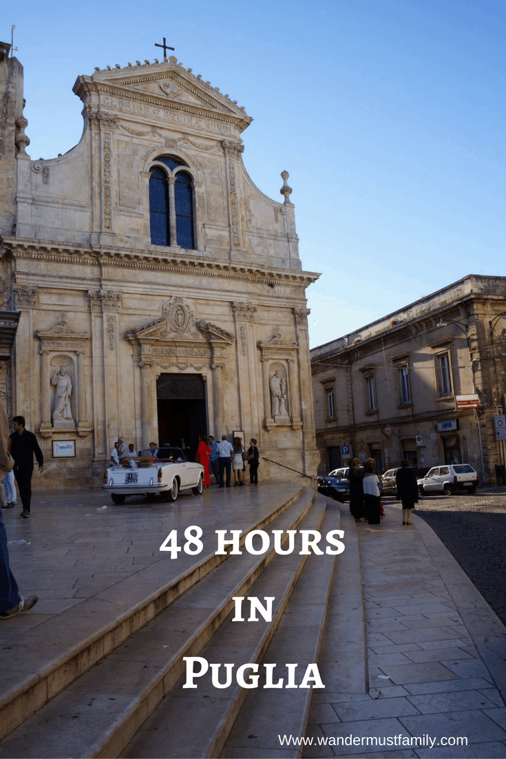 What to do with 48 hours in Puglia photo itinerary