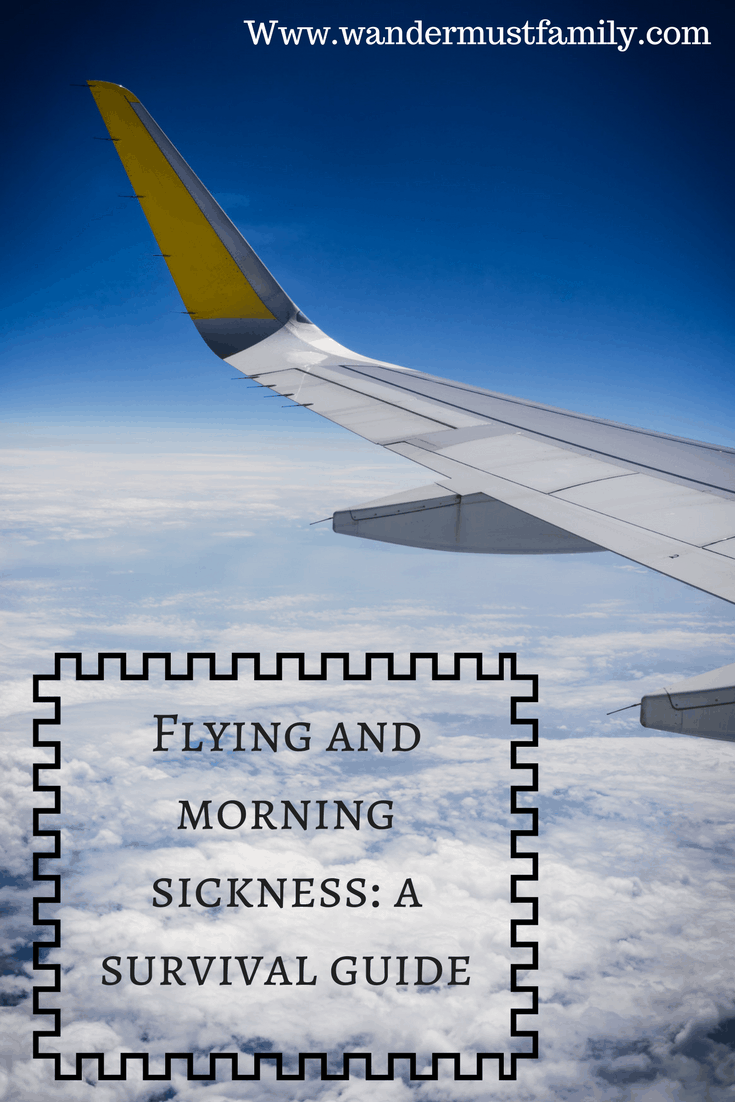 Flying and morning sickness: a survival guide
