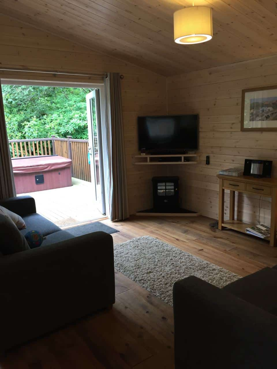 review of our luxury lodge stay at darwin forest country park