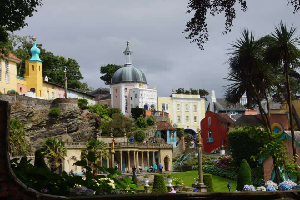 What to do Portmeirion: architecture