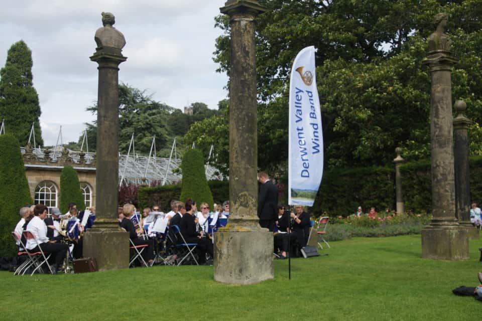 Derwent Valley Wind Orchestra CHatsworth