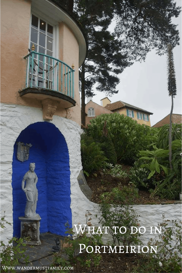 What to do in portmeirion