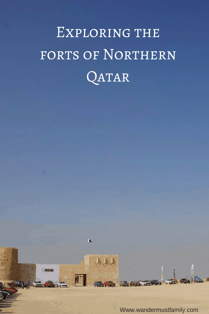 Exploring Northern Qatar