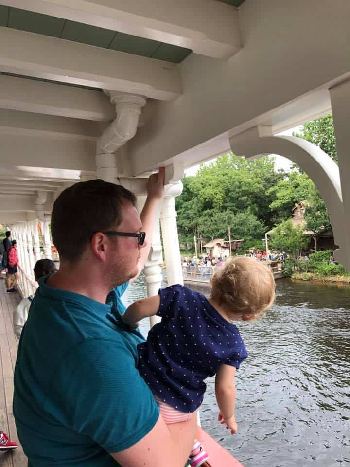 Best Tokyo Disneyland Rides for toddlers - Steamboat