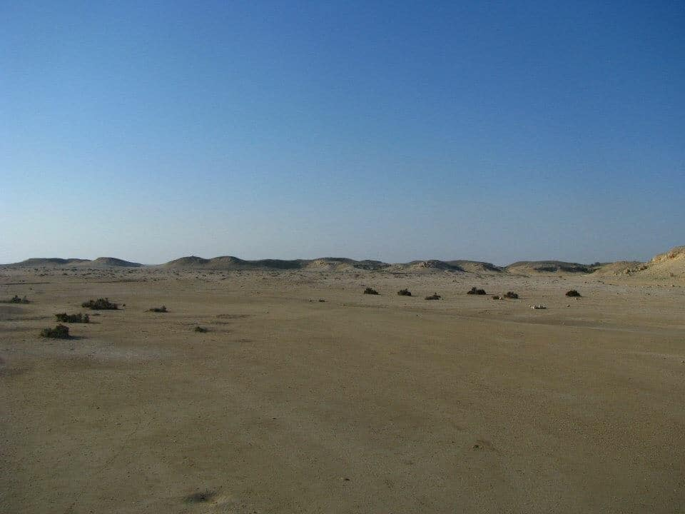 Purple Island - best desert experiences in Qatar for kids.