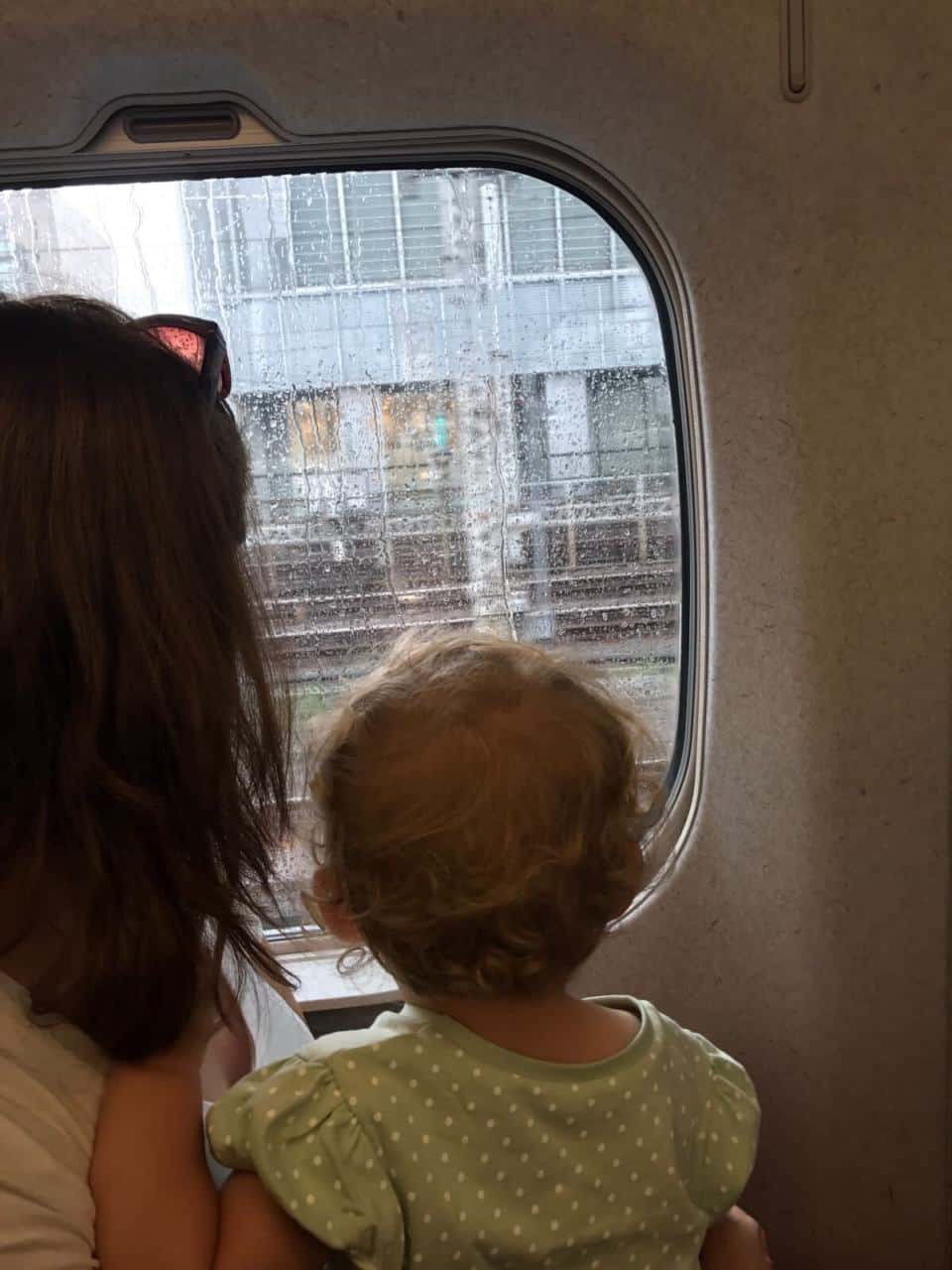 Traveling Japan with Toddlers - Kyoto to Tokyo with toddler