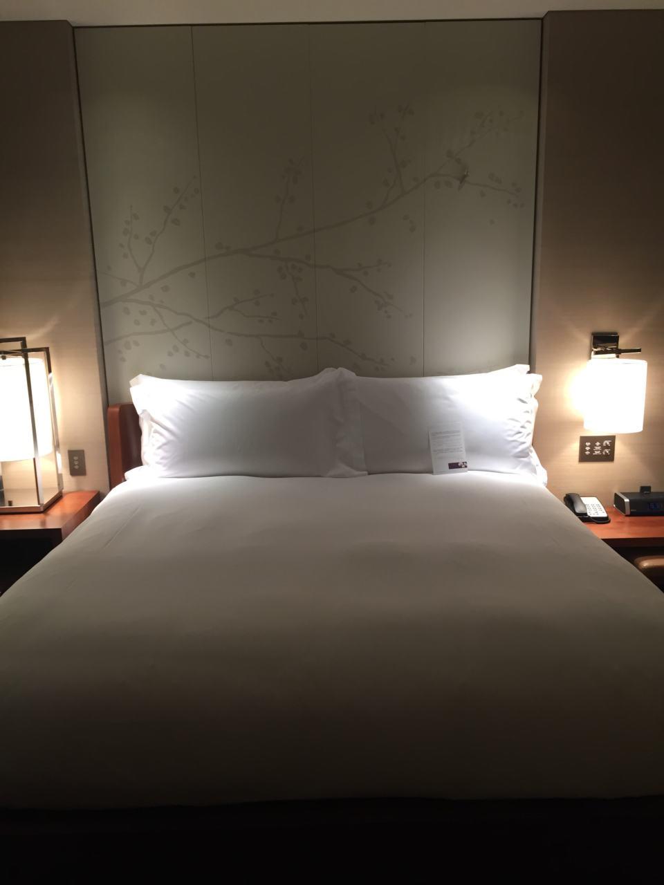 The room at the Conrad Tokyo
