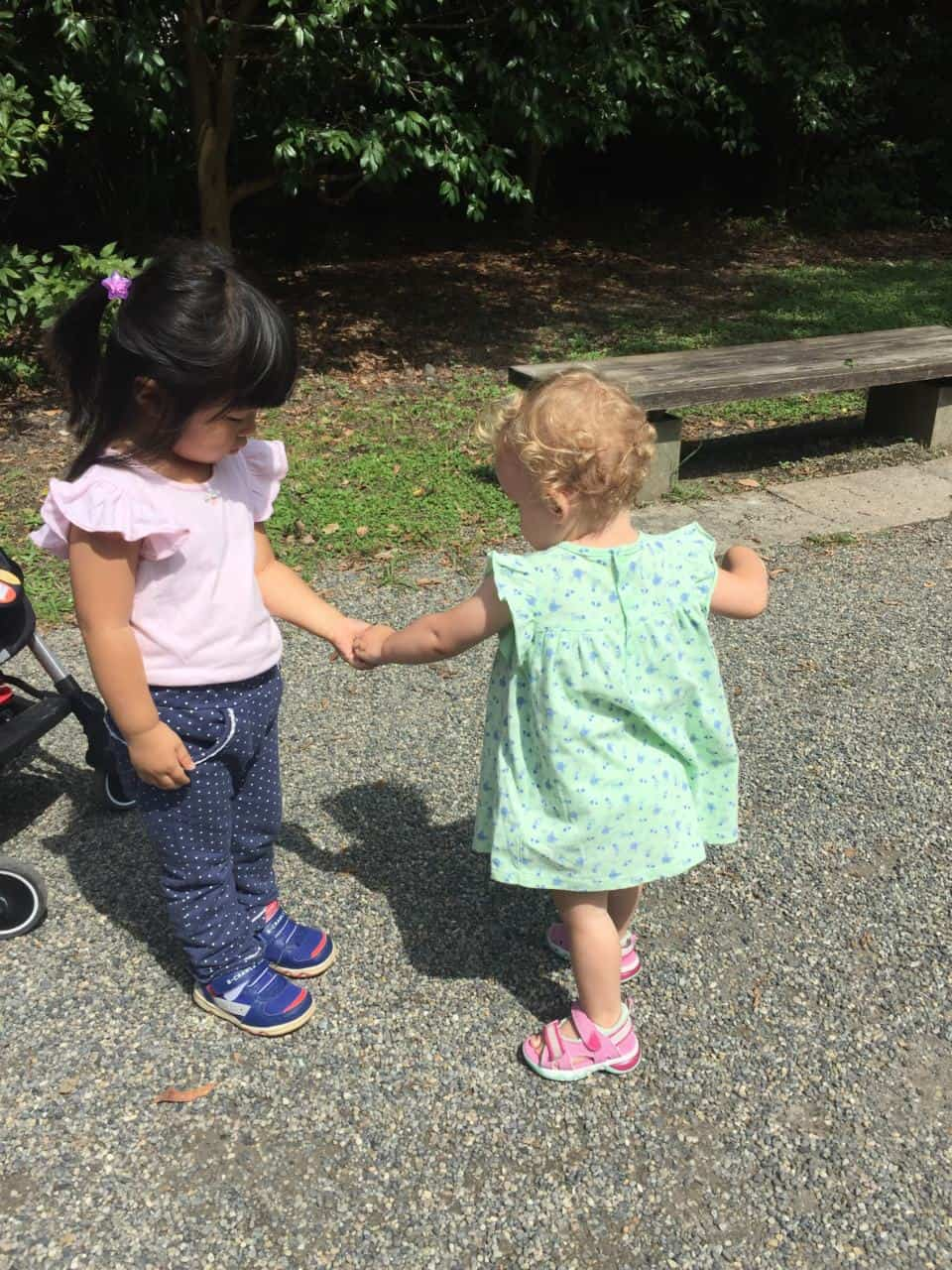 Making friends in Japan