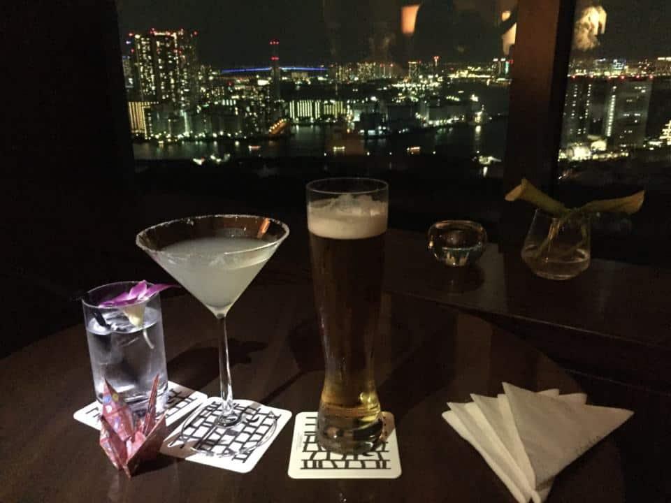 The bar at the Conrad Tokyo