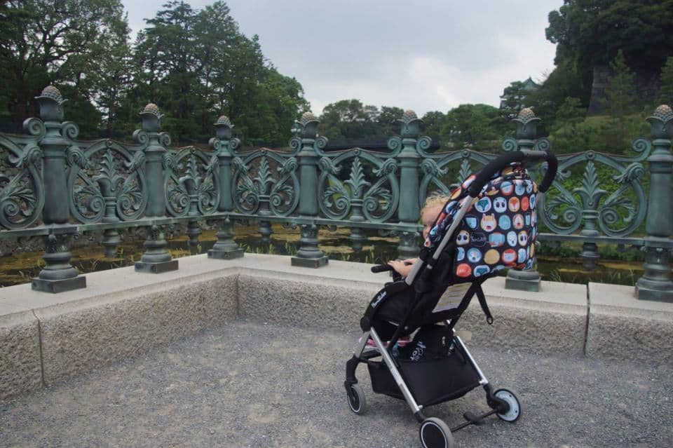 Tokyo with toddler or baby in tow