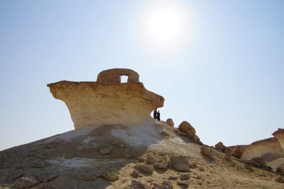 Zekreet and Film City -one of the best things to do in Q atar with kids