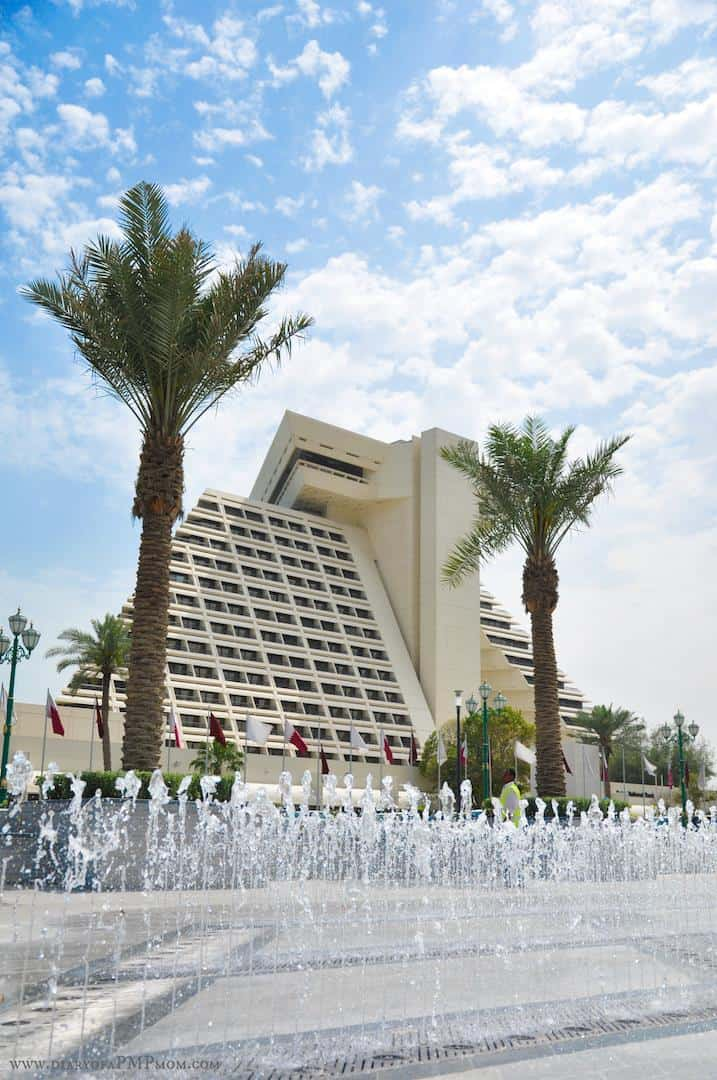 Sheraton hotel park one of the best park in Doha for kids