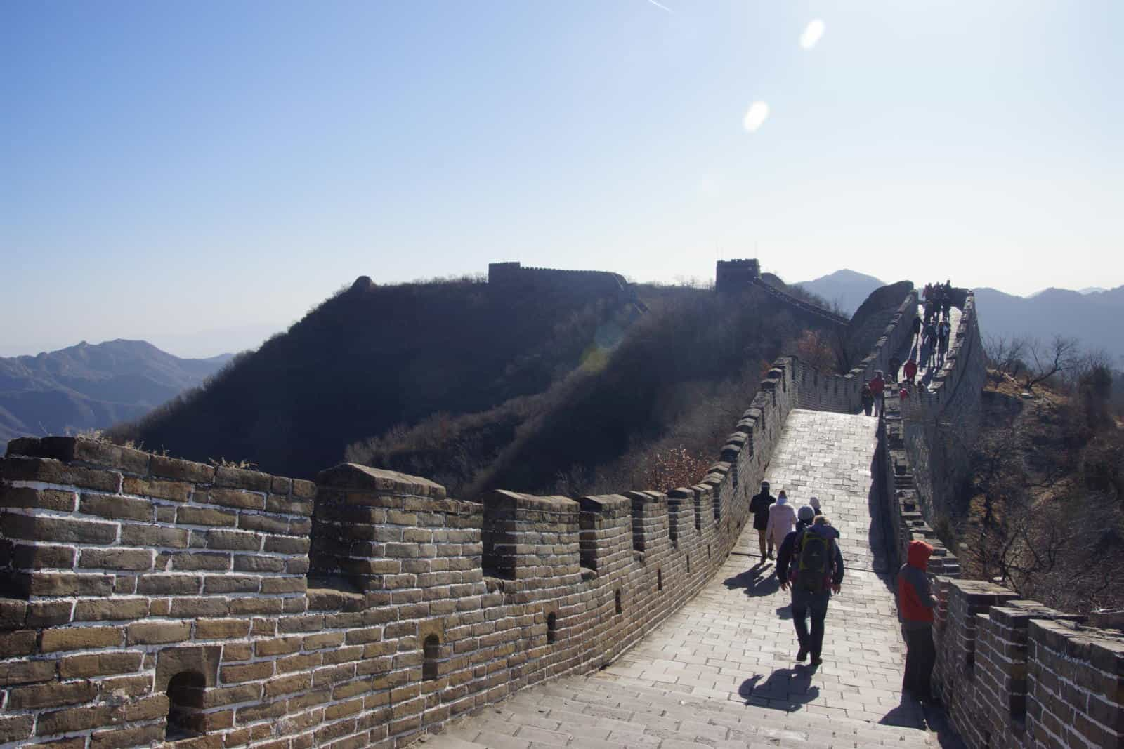 Carrier needed at the Great Wall