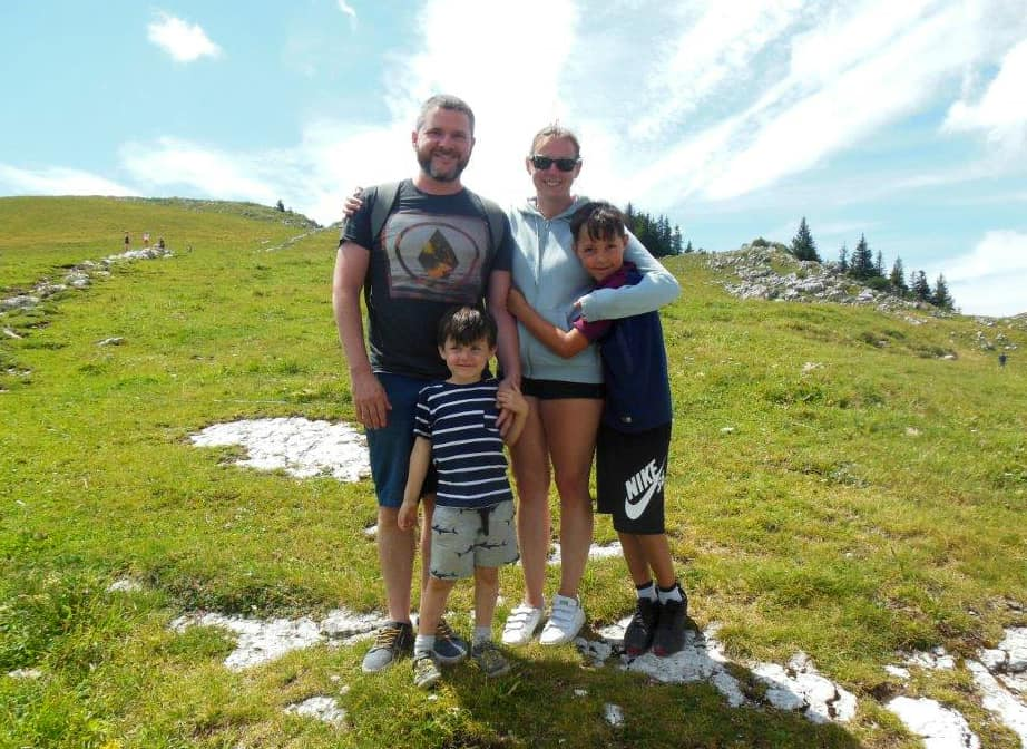 Four on a world trip