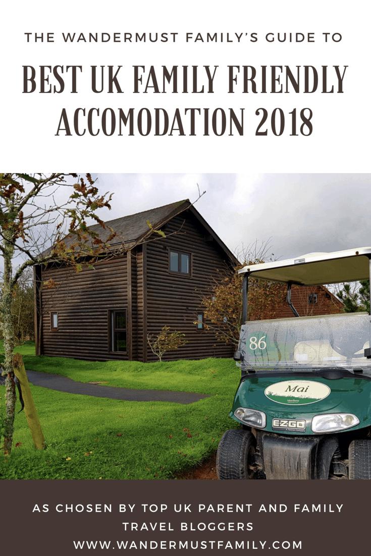 best UK family friendly accomodation