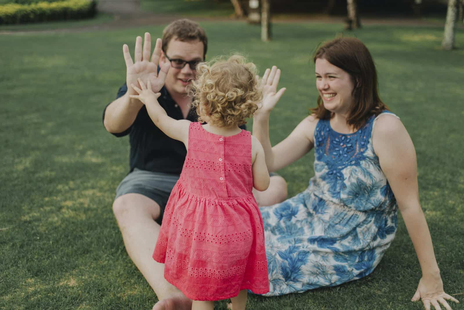 Family Portrait in the Gardens