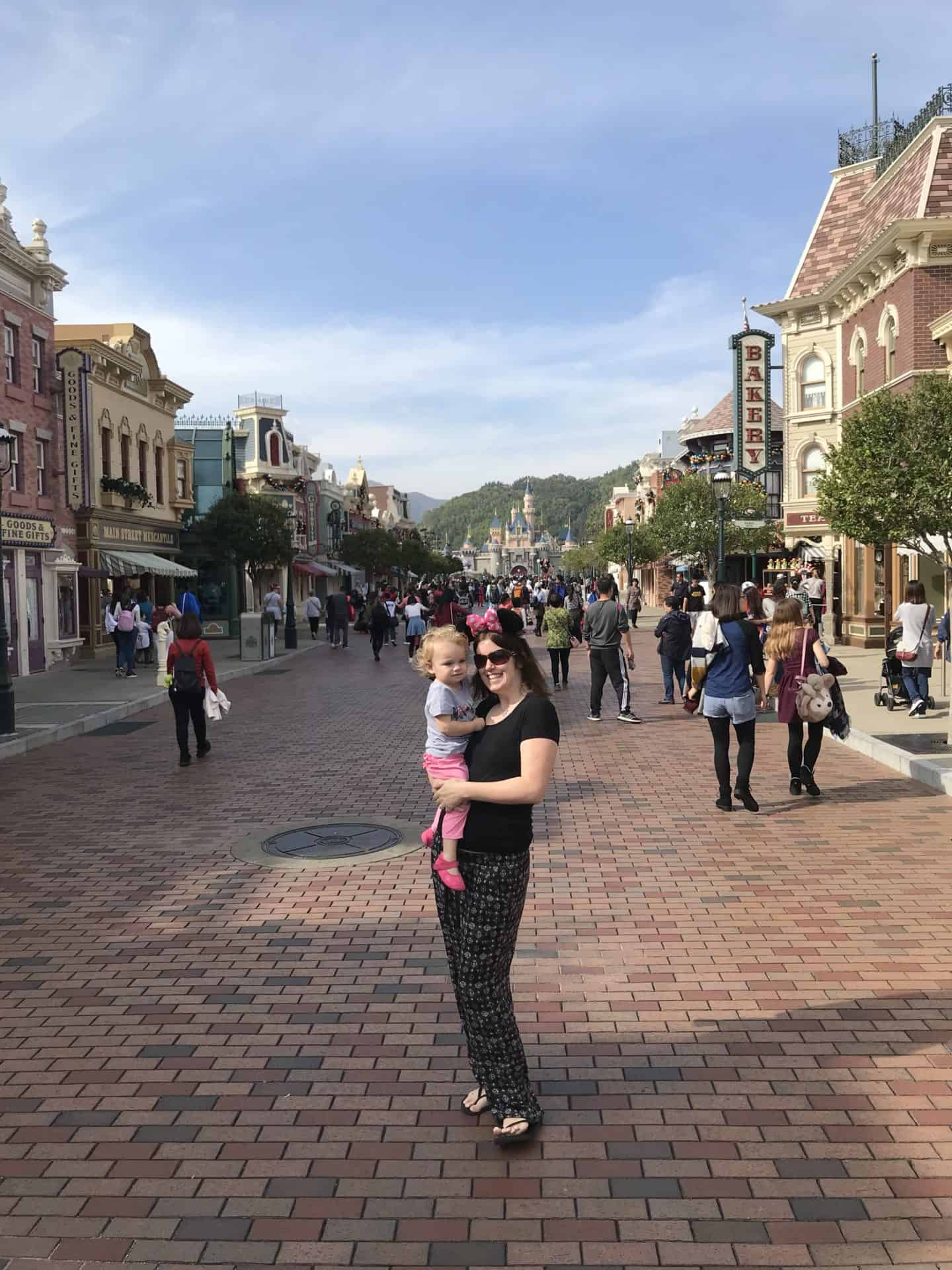 Is Hong Kong Disneyland toddler friendly?