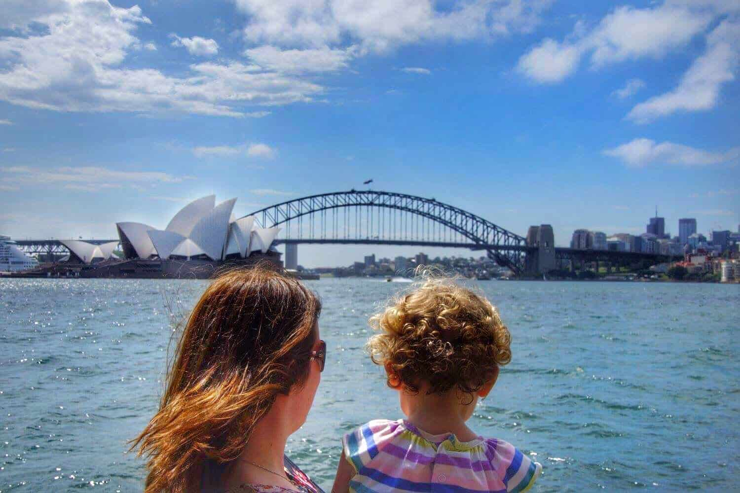 Sydney with toddlers