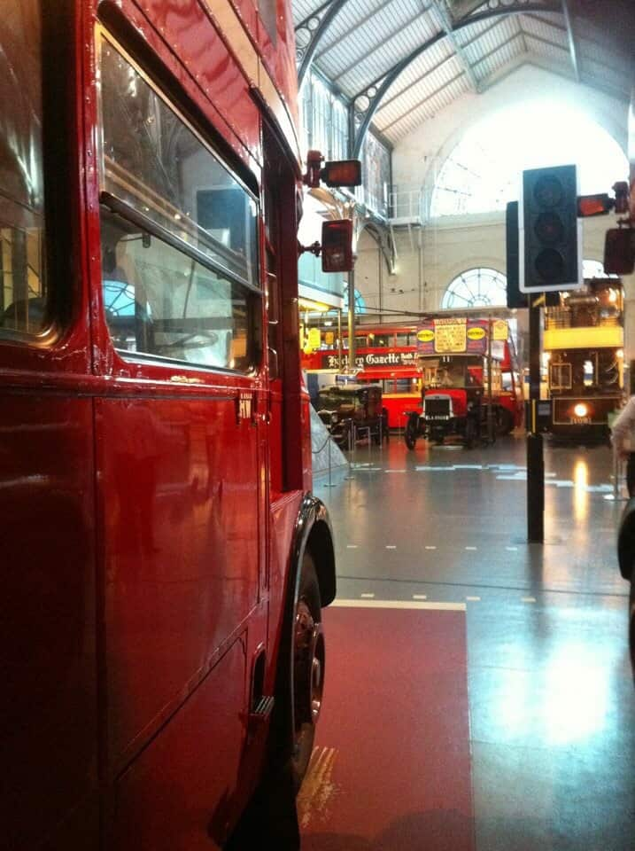 Best Things to Do in London with Kids - London Transport Museum
